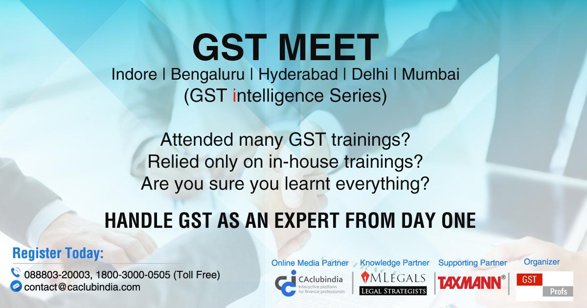 GST Meets