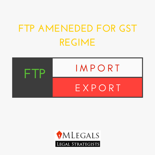 FTP AMENDED FOR GST
