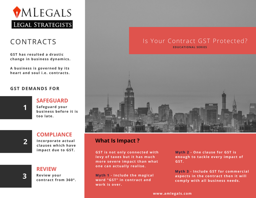 Is Your Contract GST Protected ?