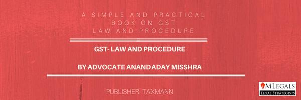 GST BOOK BY ANANDADAY MISSHRA