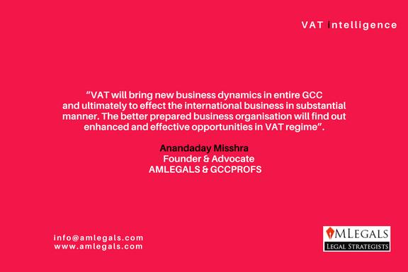 VAT IN UAE