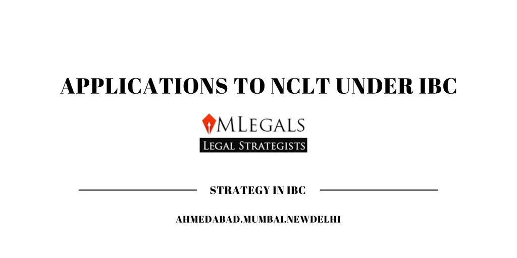 Applications to NCLT under IBC