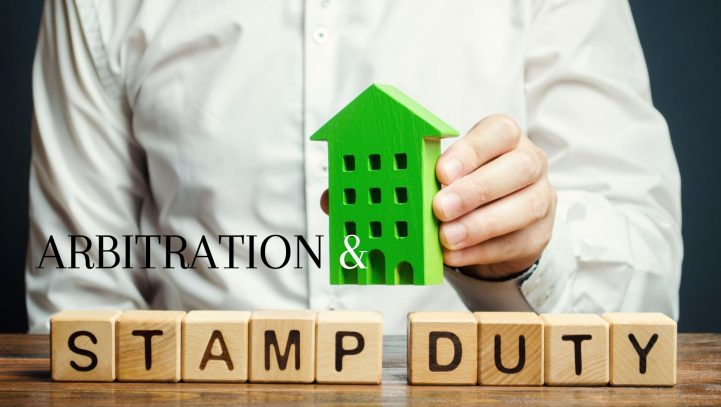 Interplay of Arbitration Agreements and stamping requirements