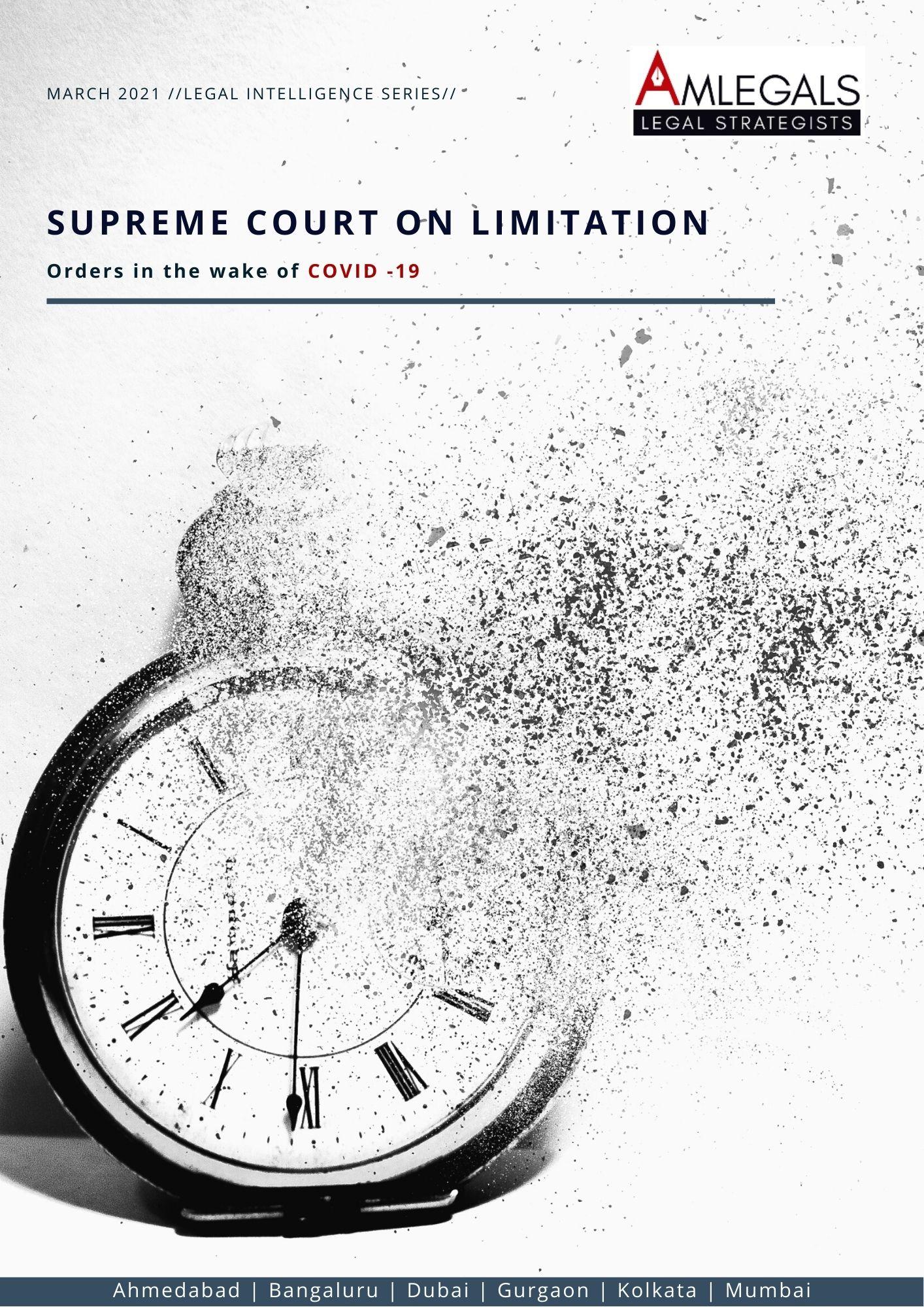 Supreme Court on Limitation