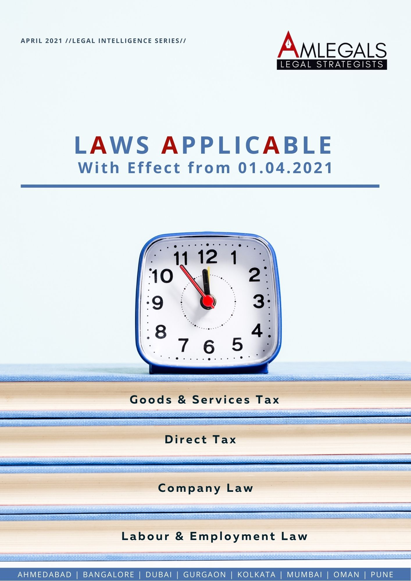 Laws Applicable from 01.04.2021