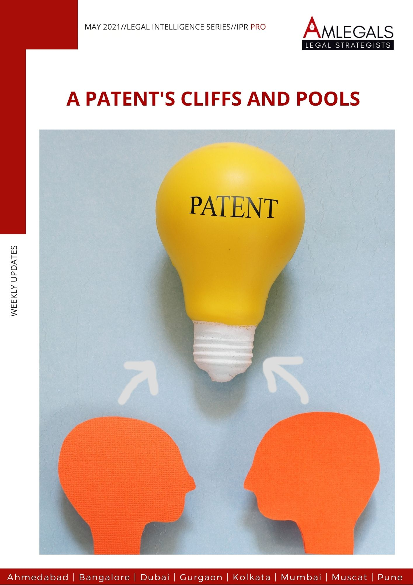 A Patent's cliffs and pools