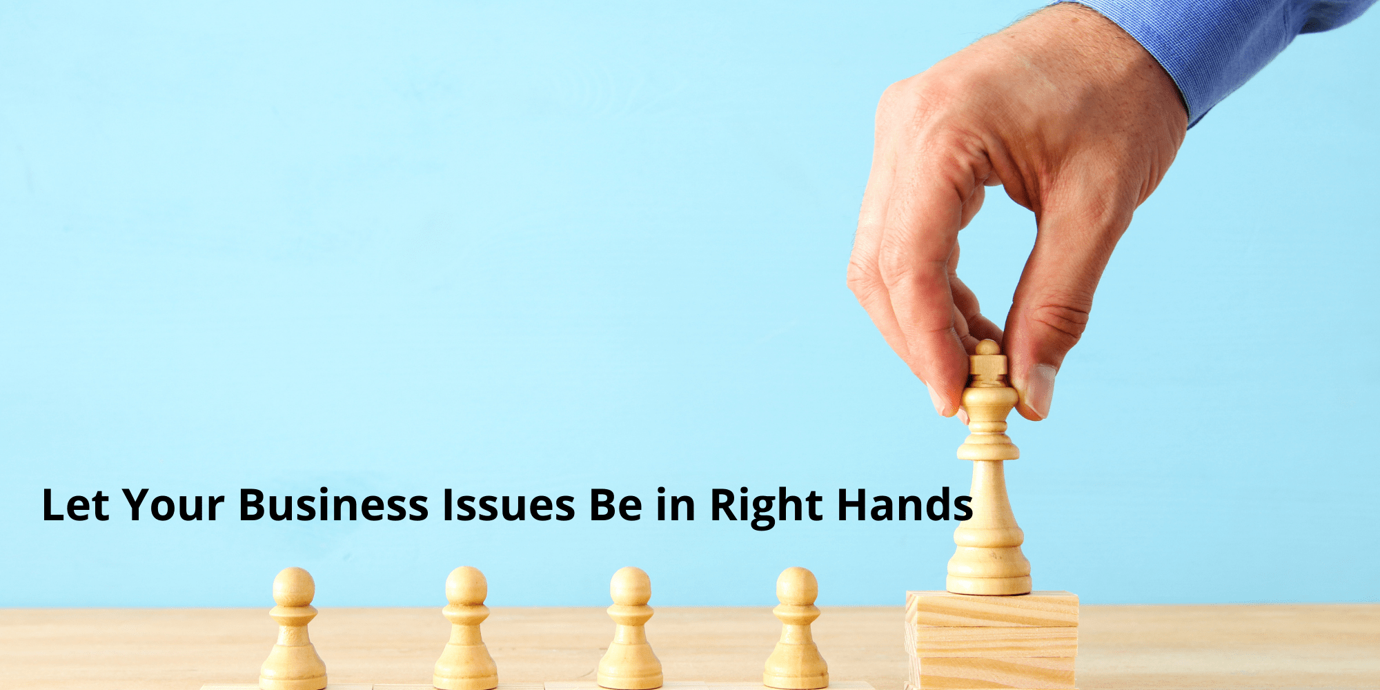 Let Your Business Issues Be in Safest Hands